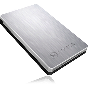 Raidsonic Icy Box External enclosure for 2,5'' SATA HDD/SSD, USB 3.0, Silver