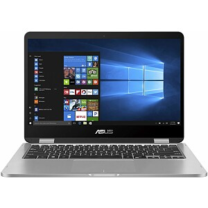 "Asus VivoBook Flip 14 TP401CA-EC133T Light Grey, 14"" FHD Touch, Core M3-7Y30, 4GB, 128GB SSD, Windows 10 Home"