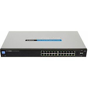 Linksys 24-port 10/100/1000 Gigabit Smart Switch with 2 combo SFPs