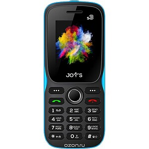 Joy's S3, Black/Blue