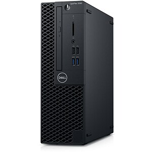 Dell OptiPlex 3060 SFF, Core i3-8100, 4GB, 128GB SSD, Intel UHD Graphics 630, English Keyboard, Windows 10 Pro