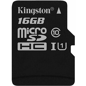 Kingston microSDHC, 8GB, Class 10