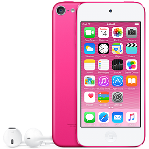 Apple iPod Touch, 16GB, Pink (6th gen)