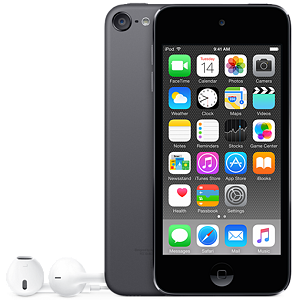 Apple iPod Touch, 64GB, Space Gray (6th gen)