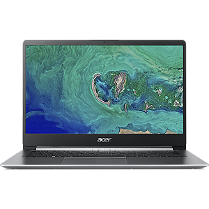 "Acer Swift 1 SF114-32 Silver, 14"" FHD IPS, Pentium N5000, 4GB, 128GB SSD, Windows 10 Home"