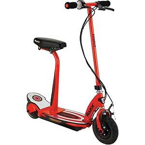 Razor Power Core E100S Electric Scooter, Red