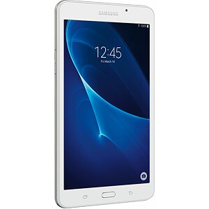 "Samsung Galaxy Tab A 7.0 (2016) (SM-T280) White, 7"" IPS, Quad-Core 1.3GHz, 1.5GB, 8GB, Android 5.1"