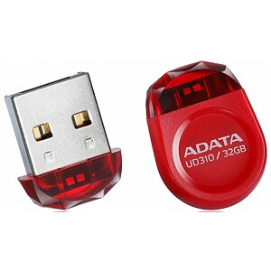 ADATA DashDrive Durable UD310, 32GB, Red