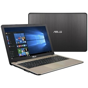 "Asus VivoBook 15 X540NA-GQ008T Chocolate Black, 15.6"" HD, Pentium N4200, 4GB, 500GB, Windows 10 Home, En kbd"