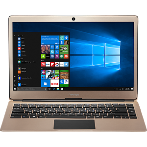 "Prestigio SmartBook 133S Gold, 13.3"" FHD IPS, Celeron N3350 1.1GHz, 4GB, 32GB, Windows 10 Pro + Office 365 1 gadam"