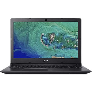 "Acer Aspire 3 A315-53G Black, 15.6"" FHD, Core i3-7020U, 4GB, 1TB, Windows 10 Home"