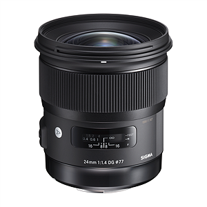 Sigma EX 24mm f/1.4 DG HSM for Canon