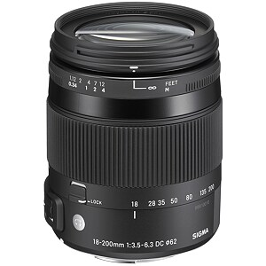 Sigma 18-200mm F3.5-6.3 DC OS HSM for Canon