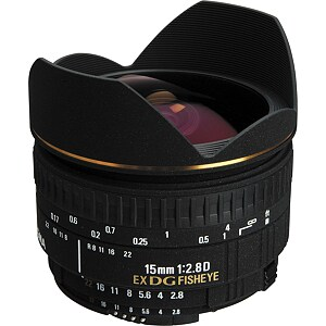 Sigma EX 15mm F2.8 DG Diagonal Fisheye for Canon