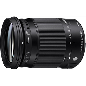 Sigma 18-300mm F3.5-6.3 DC Macro OS HSM for Canon