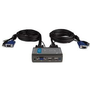 D-Link KVM-221, 2 port USB  KVM Switch