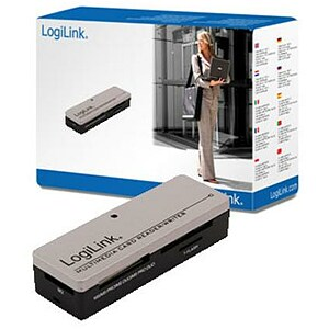 Logilink CR0010, All in One Reader, USB2.0
