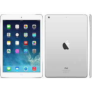 Apple iPad Air, Wi-Fi + Cellular, 16GB, Silver
