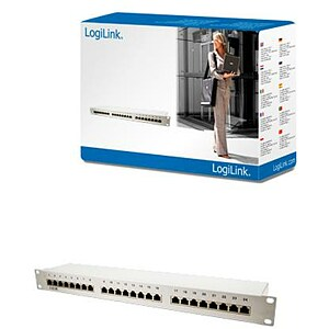 Logilink NP0036, Pach panel cat5, 24 ports, shielded