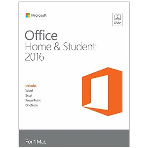 Microsoft Office for Mac Home & Student 2016, English