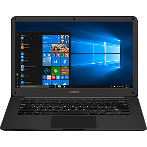 "Prestigio Prestigio SmartBook 141 C2, 14.1"" (1920*1080) IPS (anti-Glare), Windows 10 Pro, up to 2.4GHz DC Intel Celeron N3350, 3GB DDR,  32GB Flash+128GB , BT 4.0, WiFi, Mini HDMI, HDD 2.5'' slot, RJ45 port, 0.3MP Cam, EN+RU kbd, 5000mAh, 7.4V bat, Slate grey"